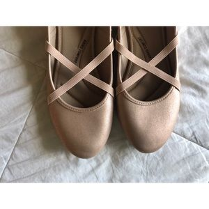 Light Pink Ballerina Flats